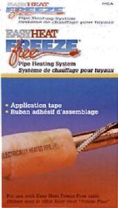 """Easy Heat HCA, 1/2"""" x 30' Roll Application Tape"""