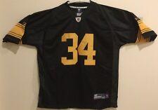 NWT Reebok Pittsburgh Steelers Rashard Mendenhall black/yellow jersey, size 54