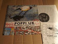 POPPI UK - MAKESHIFT HOME MUSIC - LP - SCHEMER 8906 - NL 1989