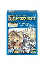 Carcassonne Wirtshäuser und Kathedralen 1. Erweiterung