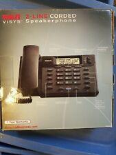 RCA 2-line Corded Speakerphone 25201RE1-A