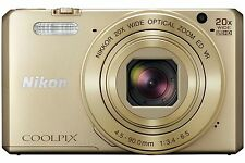 Gold 1080p HD Video Recording Digital Cameras