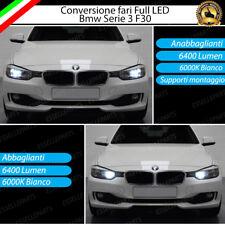 KIT FARI FULL LED BMW SERIE 3 F30 ANABBAGLIANTI H7 + ABBAGLIANTI H7 CANBUS 6000K