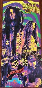 White Zombie La Sexorcisto Promo Poster 1992 ORIGINAL