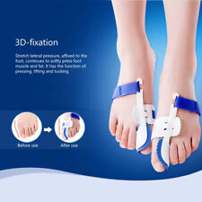 1pair Big Toe Bunion Foot Care Hallux Valgus Splint Straightener Corrector Pad