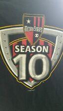 NY Metrostars season 10 USED T-shirt excellent condition MLS Red Bulls