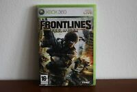 Frontlines Fuel of War - XBOX360 Game PAL - English Version