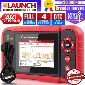 LAUNCH X431 CRP123 OBD2 Diagnostic Tool Scanner Engine ABS SRS Fault Code Reader
