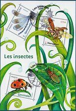 Bloc/feuillet F5148 Les Insectes oblitéré 1er jour 19.05.2017 LUXE