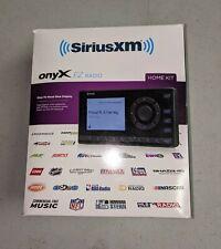 Sirius Xm Xez1H1 Onyx Ez Satellite Radio with Home Kit. New