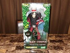 """Alice Cooper Rare Authentic Hand SIGNED Limited 18"""" Action Figure Toy Art Asylum"""
