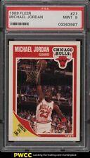 1989 Fleer Basketball Michael Jordan #21 PSA 9 MINT