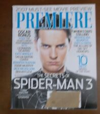 PREMIERE MAGAZINE FEBRUARY 2007 TOBEY MAGUIRE SPIDER-MAN 3 MOVIE SAM RAIMI