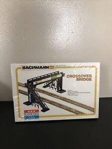 NEW Bachmann Plasticville HO Scale CROSS-OVER BRIDGE #2805 Model Kit
