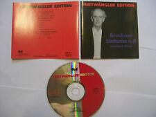 FURTWÄNGLER/BRUCKNER Sinfonia N. 8 (v. Haas) 1989 Italian CD REMASTERED – RARE!
