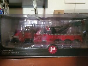 First gear peterbilt rotatery tow truck still in box 1/50 scale