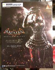 New Harley Quinn DC Comics Play Arts Kai Batman Arkham Knight Figure No 4 artfx