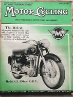 Motorcycling Magazine - 29 January 1959 - Cross Channel Touring, Mike Hawthorn