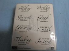 Stampin Up Well Wishes Variety Collection
