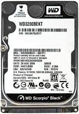 """Western Digital Black 320GB SATA 2.5"""" 7200RPM HDD WD3200BEKT Laptop Hard Drive"""