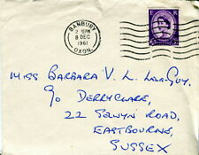 GB 1961 Banbury, Oxon postmark cover