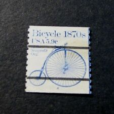 US PNC Stamp Scott# 1901a Bicycle  P# 4 1982   L191