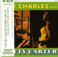 RAY CHARLES AND BETTY CARTER-S/T-JAPAN MINI LP CD BONUS TRACK C94