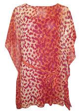 Women's Animal Print Boat Neck Casual Hip Length Tops & Shirts