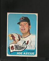 8901* 1965 Topps # 514 Joe Azcue EX