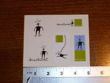 Smartwool 5 man sheet Stickers Decals