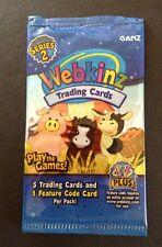 7 Packs of Webkinz Trading Card Series 2