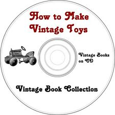 How to Make Vintage Toys  - Book Collection on CD