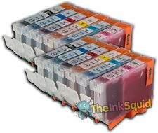 12 Canon Pixma CLI-8 Chipped Compatible Ink Cartridges