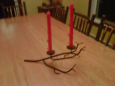candle holder made in old forge ny usa in Adirondacks orig: art for thanksgiving