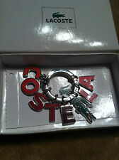 MAGNIFICENT,La Coste,Colorful Keychain !!! Must see !!!