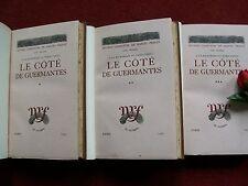 PROUST : LE CÔTE DE GUERMANTES 1930 ( 3 volumes )