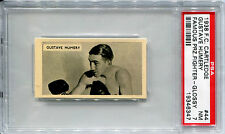 1938 F C Cartledge Razors GUSTAVE HUMERY Glossy Famous Prize Fighters #44 PSA 7