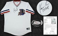 KEVIN COSTNER SIGNED DURHAM BULLS JERSEY CRASH AUTHENTIC AUTOGRAPHED +JSA LOA