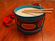 Schylling Thomas & Friends Thomas Tin Drum Toy w/ Drumsticks Adjustable Strap