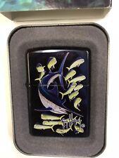 Zippo Lighter Ltd Very Rare Guy Harvey used