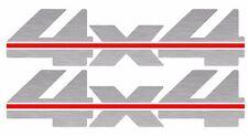 SILVER Chevrolet GMC Truck 4x4 Off Road Silverado 1500 Sticker Vinyl Decals