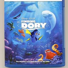 Finding Dory 2016 PG Disney Pixar movie, 2 new Blu-ray + download code, NO DVD