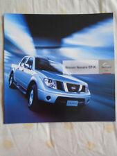 Nissan Navara ST-X brochure Mar 2006 New Zealand market