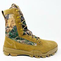 "Nike SFB 8"" Jungle Realtree Coyote Brown Mens Size 11 Camo Boots 845168 990"