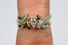 Women's .50 ct Diamond G-SI1 GIA Spec 14k Yellow Gold Engagement Ring Sizable Co