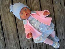 Kleidung + Jacke + Schuhe 6-tlg. für Puppen Gr. 40-45 cm Baby Born Krümel Chou