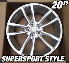 4x 20inch SUPERSPORT Silver Alloy Wheel HOLDEN COMMODORE VL VK VT VY VZ VE VF SS