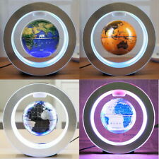 Magnetic Levitation Floating Earth Globe Map Led Light for Education Decoration