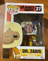 Linda Harrison Signed Planet of the Apes Dr. Zaius 27 Funko Pop- JSA MM72204