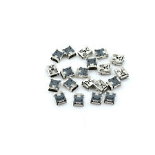 20 pcs Mini USB Type B Female Port 5-Pin 180 Degree SMD SMT PCB Jack ca